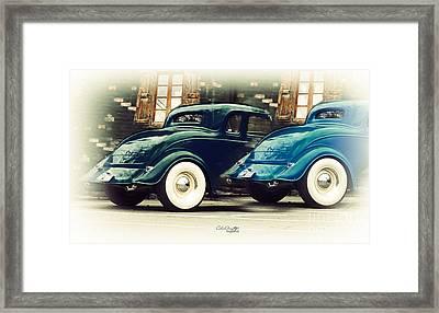 Nice Wheels Framed Print