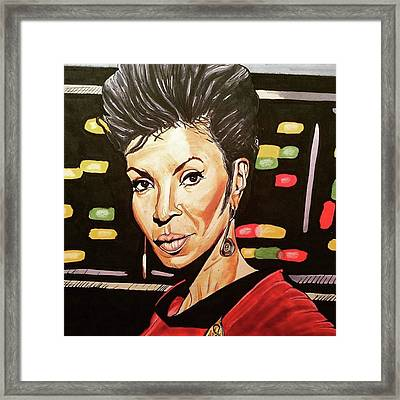 Uhura  Framed Print