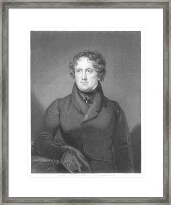 Nicholas Biddle (1786-1844) Framed Print by Granger
