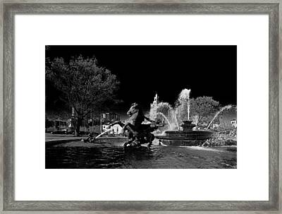 Nichols Fountain Framed Print