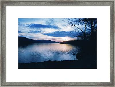 Nickajack Lake Framed Print