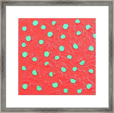 Nickels And Dimes Framed Print
