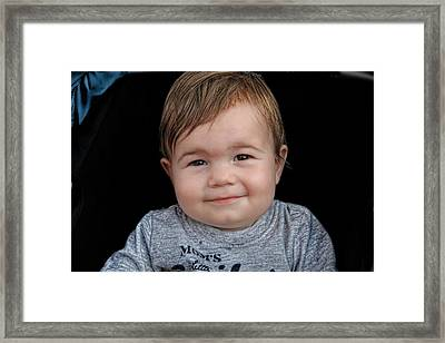 Nicolas - No H Framed Print