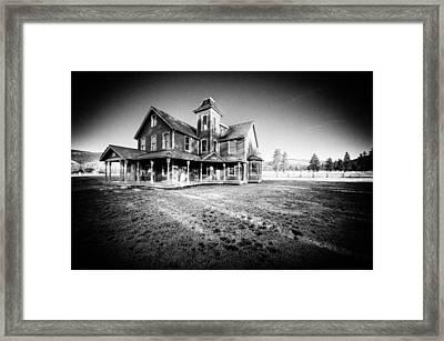 Nicolas Haunted House IIb Framed Print by Paul W Sharpe Aka Wizard of Wonders