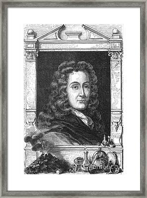 Nicolas L�mery, French Chemist Framed Print by Science Source