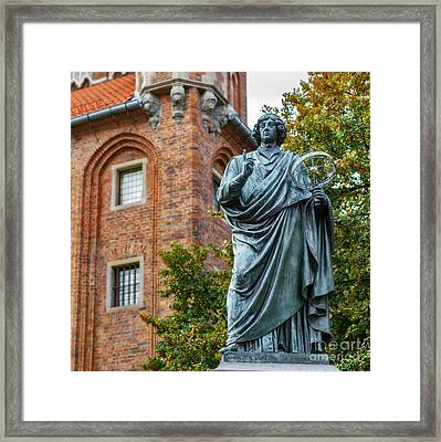 Nicolaus Copernicus Monument, Torun Framed Print by Babak Tafreshi
