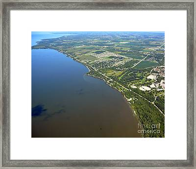 Nicolet Drive Framed Print by Bill Lang