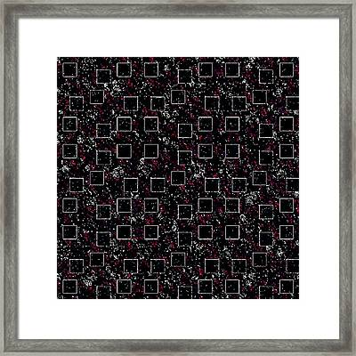 Night Abstraction Framed Print