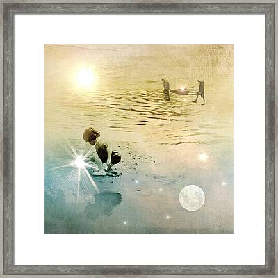 Night And Day Harvest Framed Print