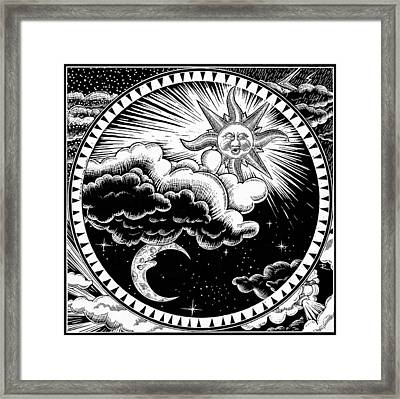 Night And Day Framed Print by Stuart Ritchie