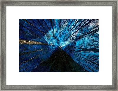 Night Angel Framed Print by David Lee Thompson