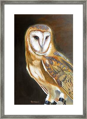 Night Angel Framed Print by Phyllis Beiser