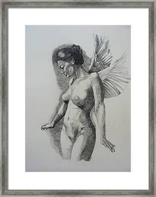 Night Angel Framed Print
