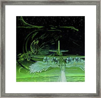 Night Angels Framed Print