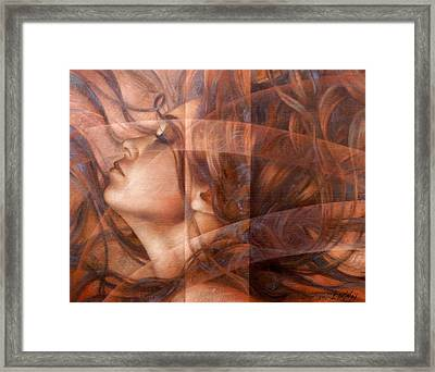 Night Framed Print by Arthur Braginsky