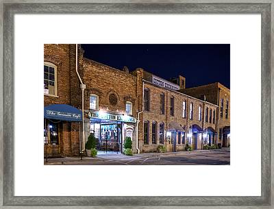 Night At The Cotton Exchange Framed Print