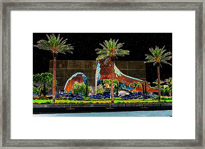Night At The Dali Museum Framed Print