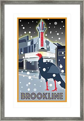 Night At The Movies Framed Print