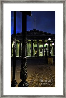 Night At The Museum Framed Print by Jasna Buncic
