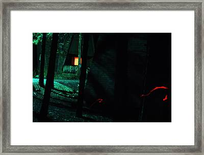 Night Aura Framed Print