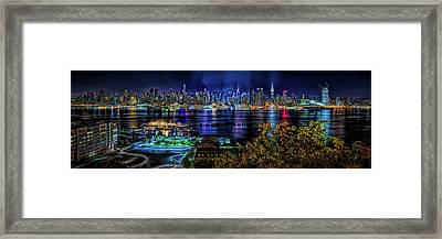 Framed Print featuring the photograph Night Beauty by Theodore Jones