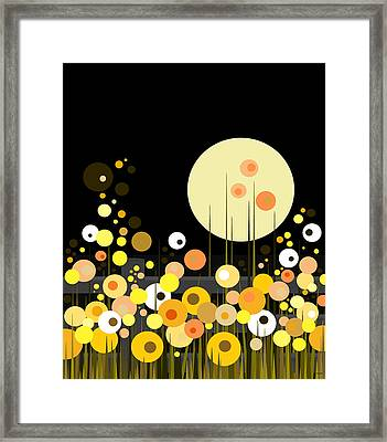 Night Blooming Flowers Framed Print