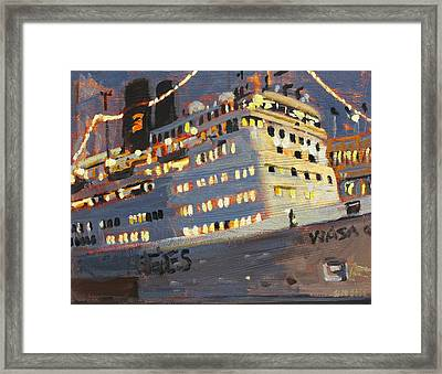Night Cruise Framed Print by Brian Simons
