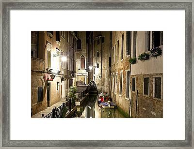 Night Da Mario Framed Print