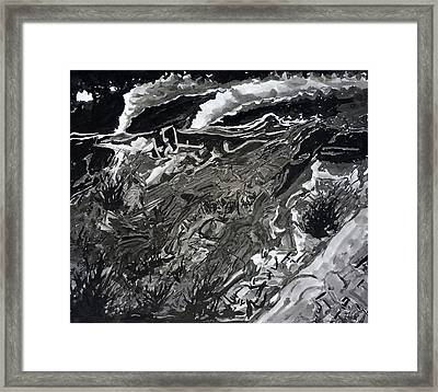 Night Framed Print by David Frantz