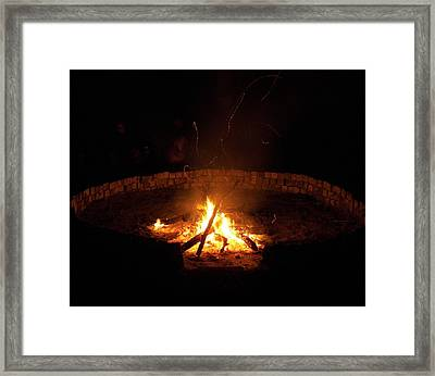 Night Done Right Framed Print by Charles Peck