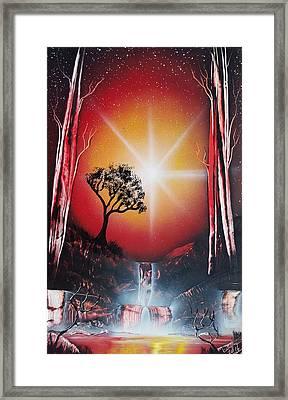 Night Escape Framed Print