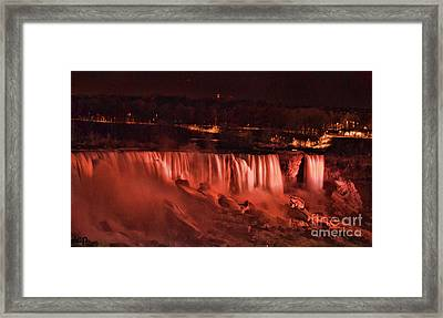 Framed Print featuring the photograph Night Falls by Traci Cottingham