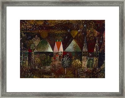 Night Feast  Framed Print