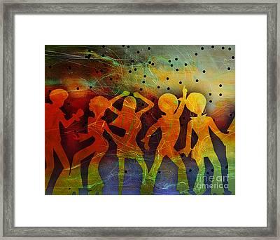Night Fever Framed Print by Tammera Malicki-Wong