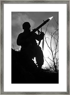 Night Fighter Framed Print