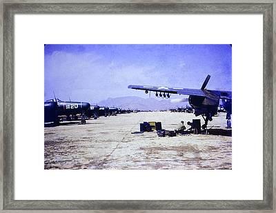 Korean War Night Fighters Framed Print