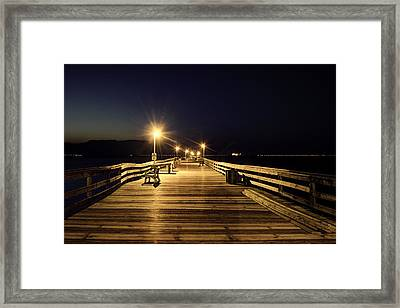 Night Fishin' Framed Print