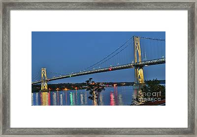 Night Flights Framed Print