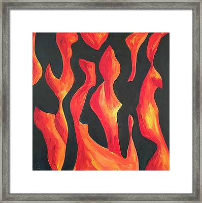 Night Forms Framed Print by Michael Oliphant