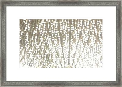 Night Full Of Bling Framed Print