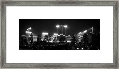 Night Game Framed Print by Ricky Barnard