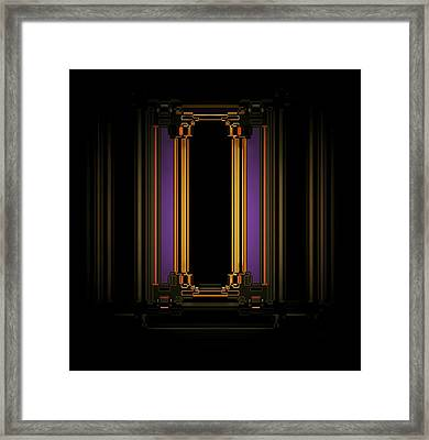 Night Framed Print by Geoff Simmonds