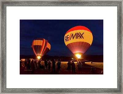 Night Glow Framed Print
