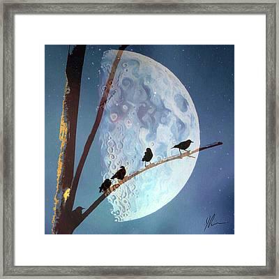 Night Framed Print