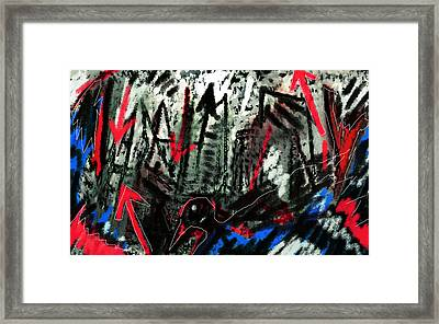 Night Journey  Framed Print by Paul Sutcliffe