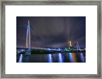 Night Keeper Framed Print