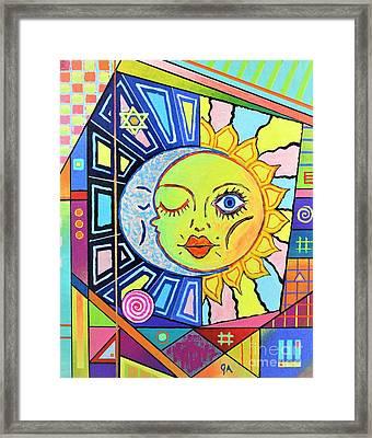 Night Kisses Daylight Framed Print by Jeremy Aiyadurai