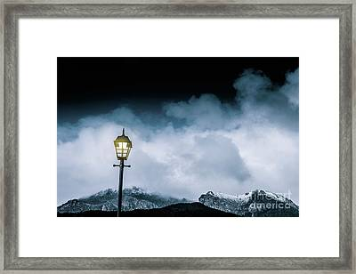 Night Landscape In Queenstown Tasmania Framed Print by Jorgo Photography - Wall Art Gallery
