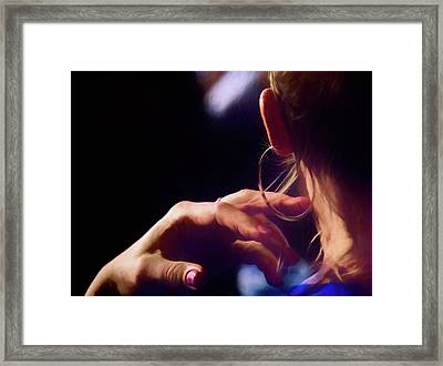 Night Life Framed Print by Wes Iversen