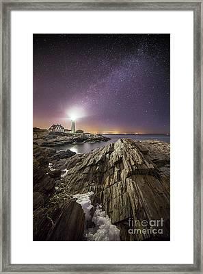 Night Light Framed Print by Benjamin Williamson